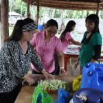 A Few Staff & Teachers Prepare Lunch