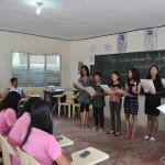 Binalbagan School Teachers Presenting a Special Number
